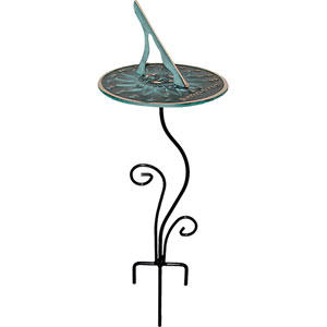 Flowerbed Pedestal Base Wrought Iron with Black Powdercoat - Pedestal Only