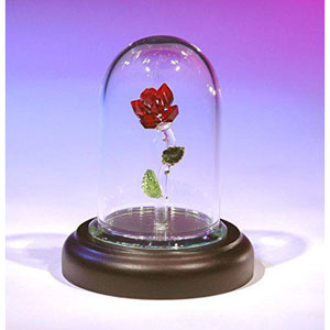 The Enchanted Rose Figurine
