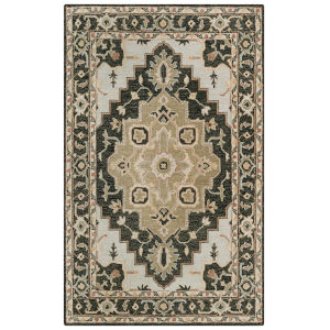 Conley Black 7 Ft. 9 In. x 9 Ft. 9 In. Tufted Rug