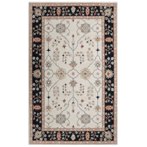 Conley Black and White 7 Ft. 9 In. x 9 Ft. 9 In. Tufted Rug