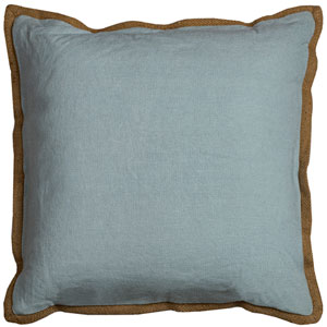 Varsity Aqua 22-Inch Throw Pillow