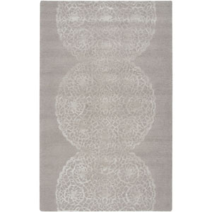 Dimensions Light Brown and Ivory Rectangular: 5 Ft. x 8 Ft. Rug