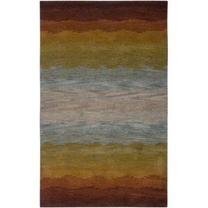 Colours Rust Rectangular: 5 Ft. x 8 Ft. Rug