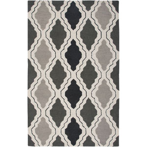 Country Gray Rectangular: 5 Ft. x 8 Ft. Rug