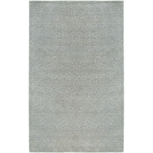 Uptown Light Gray Rectangular: 5 Ft. 6 In. x 8 Ft. 6 In. Rug