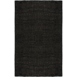 Uptown Charcoal Rectangular: 5 Ft. 6 In. x 8 Ft. 6 In. Rug