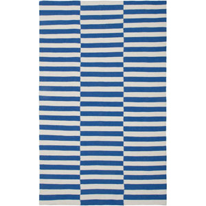 Swing Blue Rectangular: 5 Ft. x 8 Ft. Rug