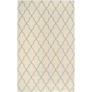 Swing Beige and Light Gray Rectangular: 5 Ft. x 8 Ft. Rug