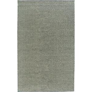 Twist Black and Light Gray Rectangular: 5 Ft. x 8 Ft. Rug