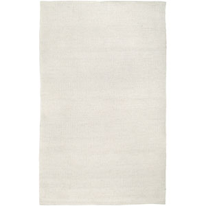 Twist White Rectangular: 5 Ft. x 8 Ft. Rug