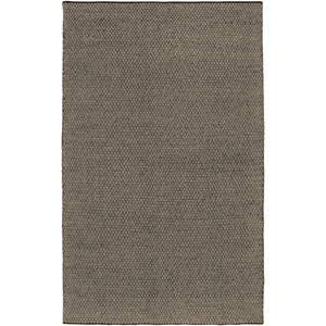 Twist Brown and Tan Rectangular: 5 Ft. x 8 Ft. Rug