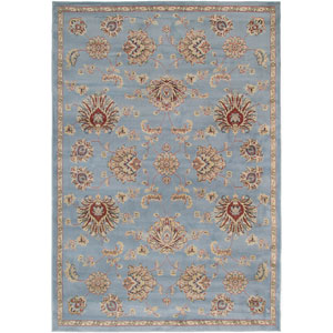 Bayside Gray Rectangular: 5 Ft. 3 In. x 7 Ft. 7 In. Rug