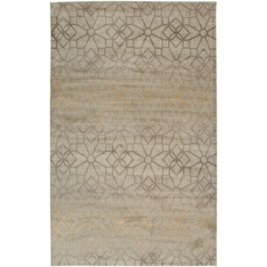 Bayside Ivory and Gray Rectangular: 5 Ft. 3 In. x 7 Ft. 7 In. Rug