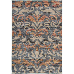 Bayside Gray and Tan Rectangular: 5 Ft. 3 In. x 7 Ft. 7 In. Rug