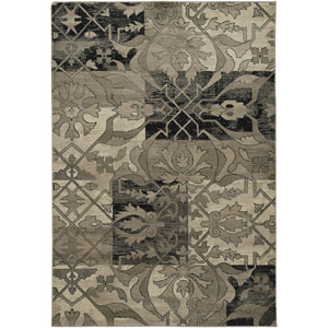 Bayside Dark Green Rectangular: 5 Ft. 3 In. x 7 Ft. 7 In. Rug