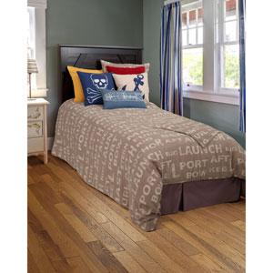 Sail Away Gray Pantone Twin Bed Skirt