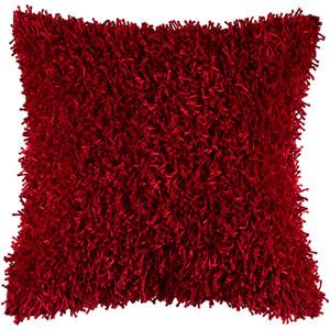 Kempton Red 18-Inch Throw Pillow