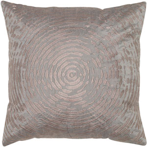 One of a Kind Plum 18-Inch Throw Pillow
