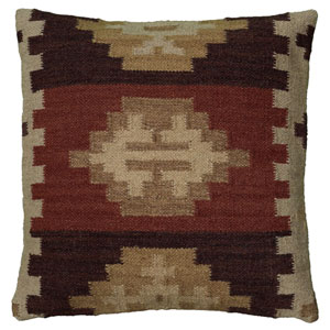 Southwest Beige 18-Inch Throw Pillow
