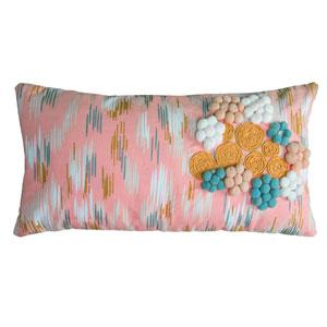 Light Pink 11 x 21-Inch Throw Pillow