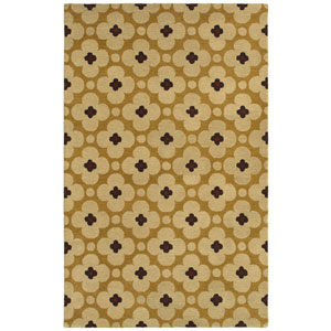 Opus Light Gold Rectangular: 5 Ft. x 8 Ft. Rug