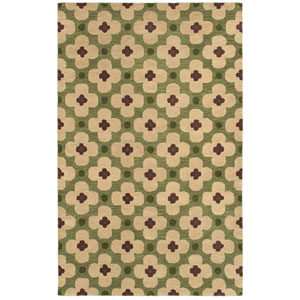 Opus Green Rectangular: 5 Ft. x 8 Ft. Rug