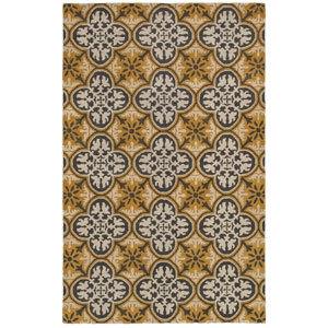 Opus Gold Rectangular: 5 Ft. x 8 Ft. Rug