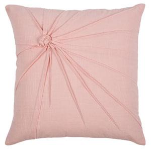Top Knot Pink 18-Inch Throw Pillow