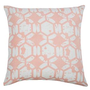 Geometric Pink  20-Inch Throw Pillow