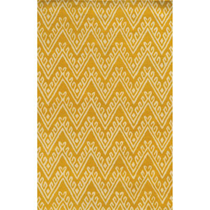 Bradberry Downs Gold Rectangular: 2 Ft x 3 Ft Rug
