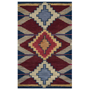 Southwest Multicolor Rectangular: 2 Ft x 3 Ft Rug