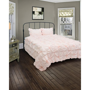 Plush Dreams Pink Three-Piece King Comforter Set