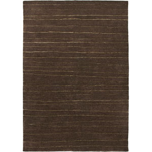 Avant-Garde Rectangle: 5 Ft. 6 In. x 8 Ft. 6 In. Darkbrown Rug