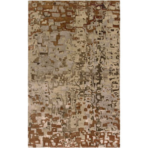 Avant-Garde Rectangle: 5 Ft. 6 In. x 8 Ft. 6 In. Beige Rug