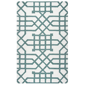 Azzura Hill Off White Rectangular: 2 Ft. x 3 Ft.  Rug