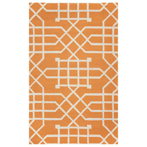 Azzura Hill Orange Rectangular: 2 Ft. x 3 Ft.  Rug