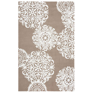 Azzura Hill Light Brown Rectangular: 2 Ft. x 3 Ft.  Rug