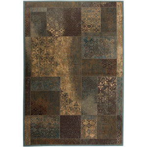 Bellevue Rectangle: 6 Ft. 7 In. x 9 Ft. 6 In. Blue Rug