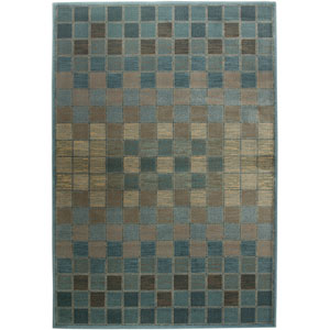 Bellevue Rectangle: 5 Ft. 3 In. x 7 Ft. 7 In. Blue Rug