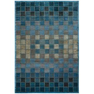 Bellevue Blue Round: 7 Ft. 10-Inch x 10 Ft. 10-Inch  Rug