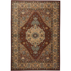 Bellevue Rectangle: 5 Ft. 3 In. x 7 Ft. 7 In. Red Rug