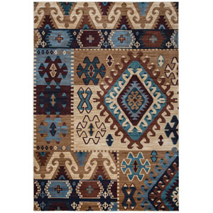 Bellevue Multicolor Round: 7 Ft. 10-Inch x 10 Ft. 10-Inch  Rug
