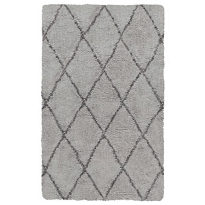 Connex Taupe Rectangular: 7 Ft. 6-Inch x 9 Ft. 6-Inch  Rug