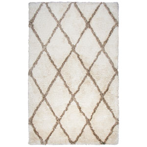 Commons Ivory Round: 3 Ft. x 3 Ft.  Rug