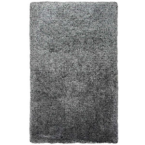 Commons Black Round: 3 Ft. x 3 Ft.  Rug