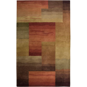 Colours Rectangle: 5 Ft. x 8 Ft. Gray Rug