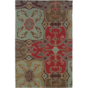 Country Rectangle: 5 Ft. x 8 Ft. Beige Rug