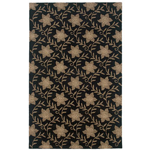 Country Rectangle: 5 Ft. x 8 Ft. Black Rug