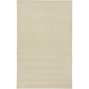 Country Rectangle: 5 Ft. x 8 Ft. Solid White Rug