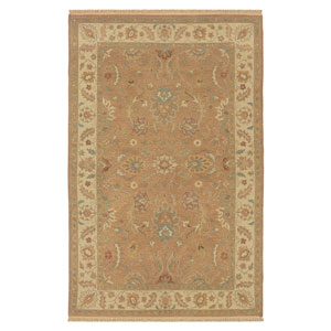 Elegance Rectangle: 5 Ft. 6 In. x 8 Ft. 6 In. Rust Rug